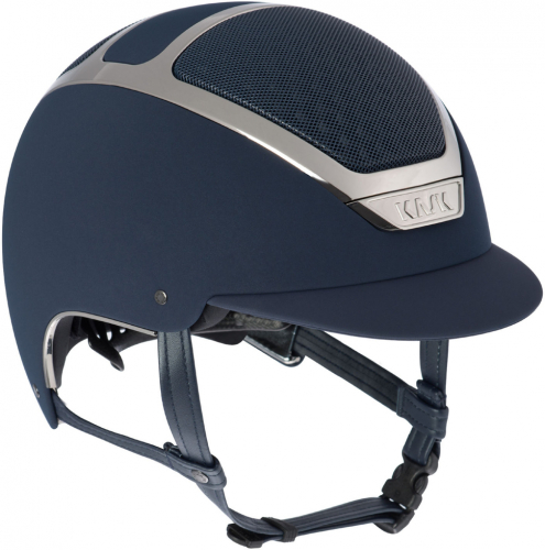 Kask Dogma Chrome Light Navy/Silver-Extra Large