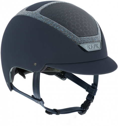 Kask Dogma Chrome Light Swarovski Navy/Navy-Medium
