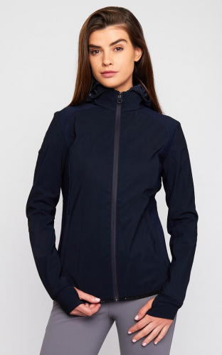 Ladies Cavalleria Toscana Bonded Jersey Windbreaker Jacket
