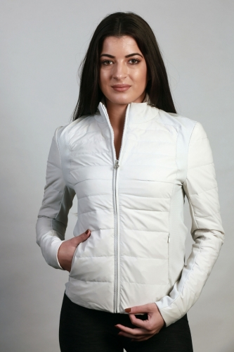 Ladies Cavalleria Toscana Degrade Quilted Puffer