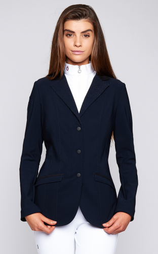Ladies Cavalleria Toscana Micro Perforated Jacket