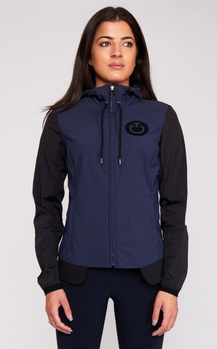 Ladies Cavalleria Toscana Nylon Hooded Jacket