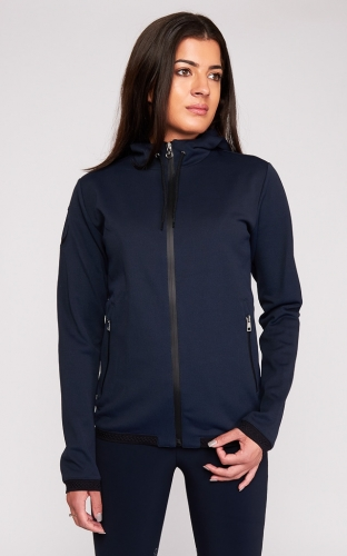 Ladies Cavalleria Toscana Piquet Zip Sweatshirt