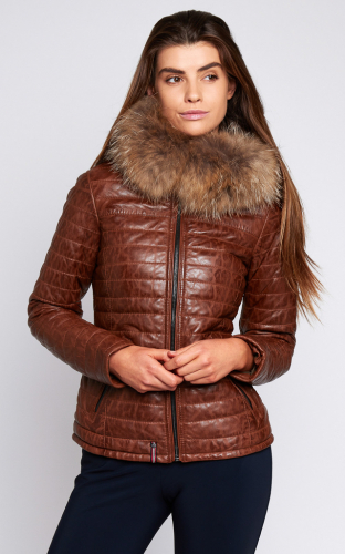 Ladies Oakwood Happy Jacket Cognac
