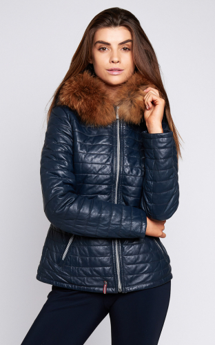 Ladies Oakwood Happy Jacket Navy