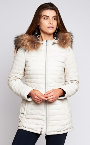 Ladies Oakwood Poppy Jacket Ivory