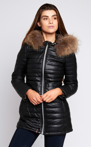 Ladies Oakwood Poppy Jacket Black