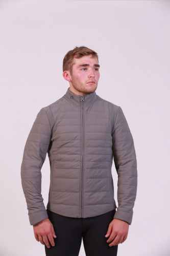 Mens Cavalleria Toscana Degrade Quilted Puffer
